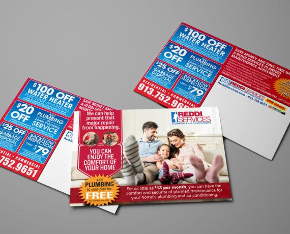Reddi Services Mailer