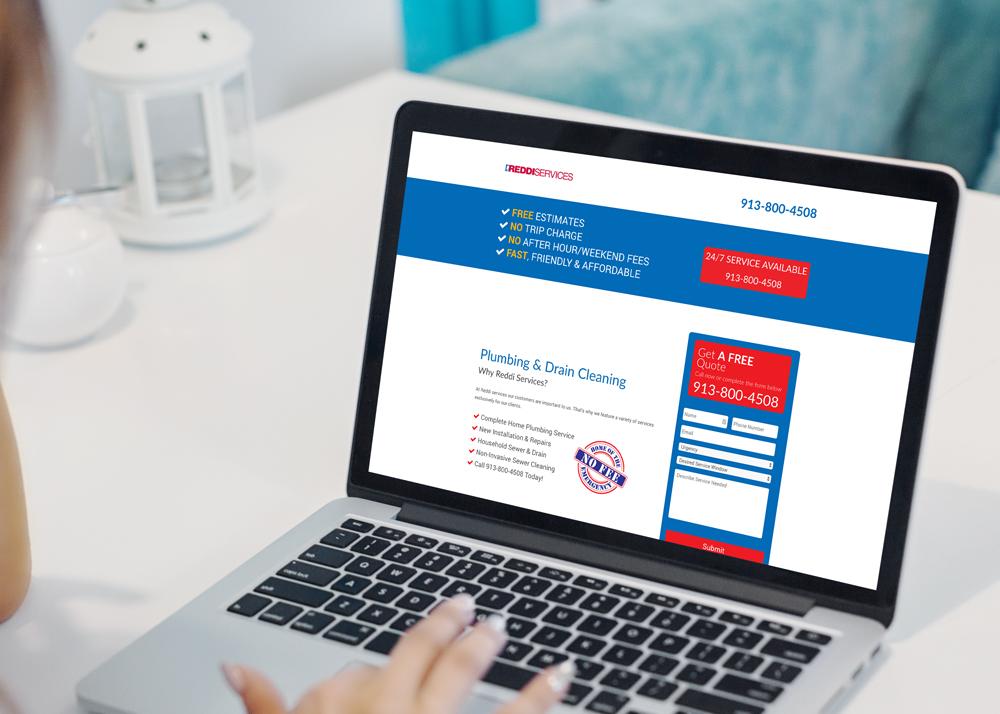 Reddi Services – Landing Page