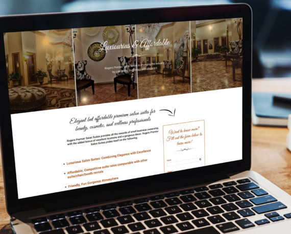 Rogers Premier Salon – Landing Page