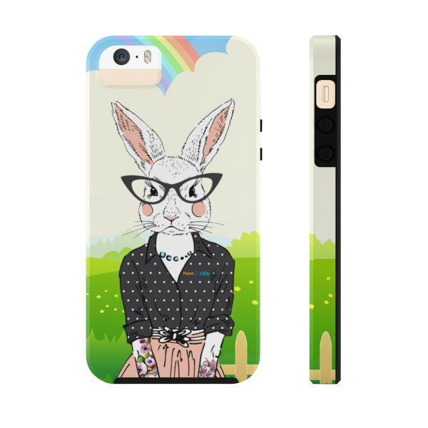 Hipster Bunny Phone Cases – iPhone 5/5s/5se Tough