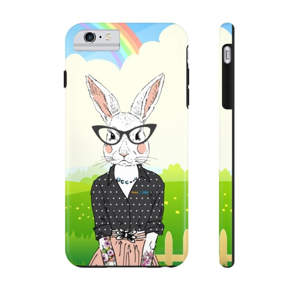 Hipster Bunny Phone Cases – iPhone 6/6s Plus Tough