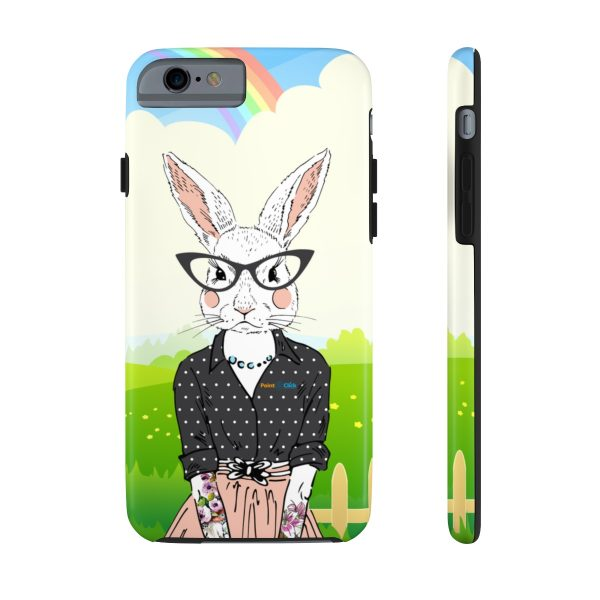 Hipster Bunny Phone Cases – iPhone 6/6s Tough