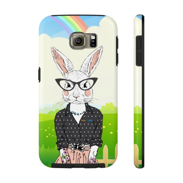 Hipster Bunny Phone Cases – Samsung Galaxy S6 Tough