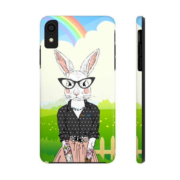 Hipster Bunny Phone Cases – iPhone XR