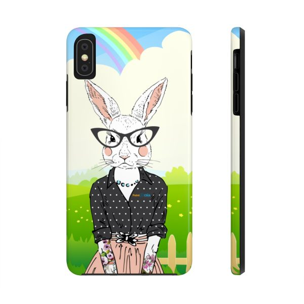 Hipster Bunny Phone Cases – iPhone XS MAX